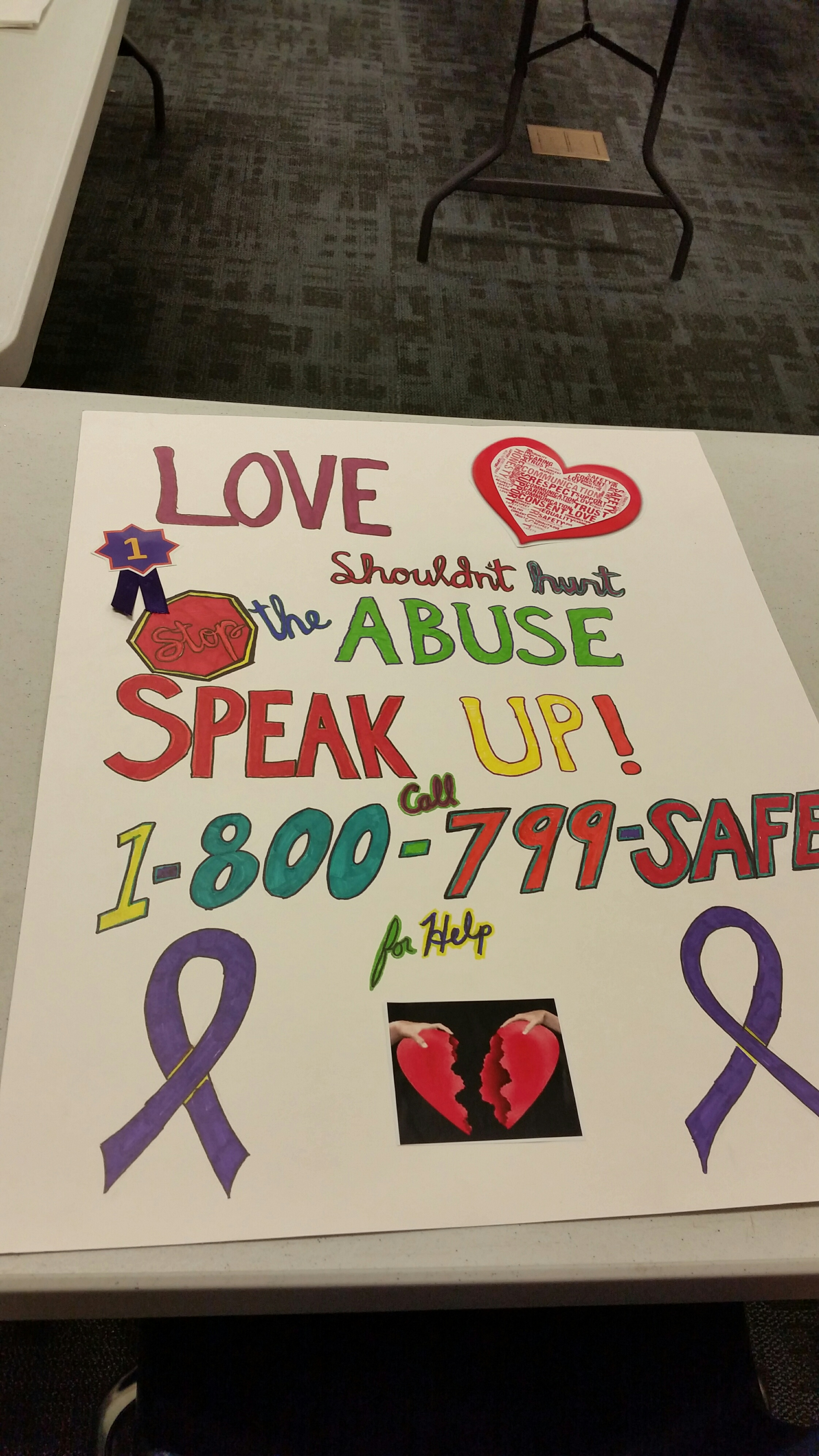 Dating violence awareness week